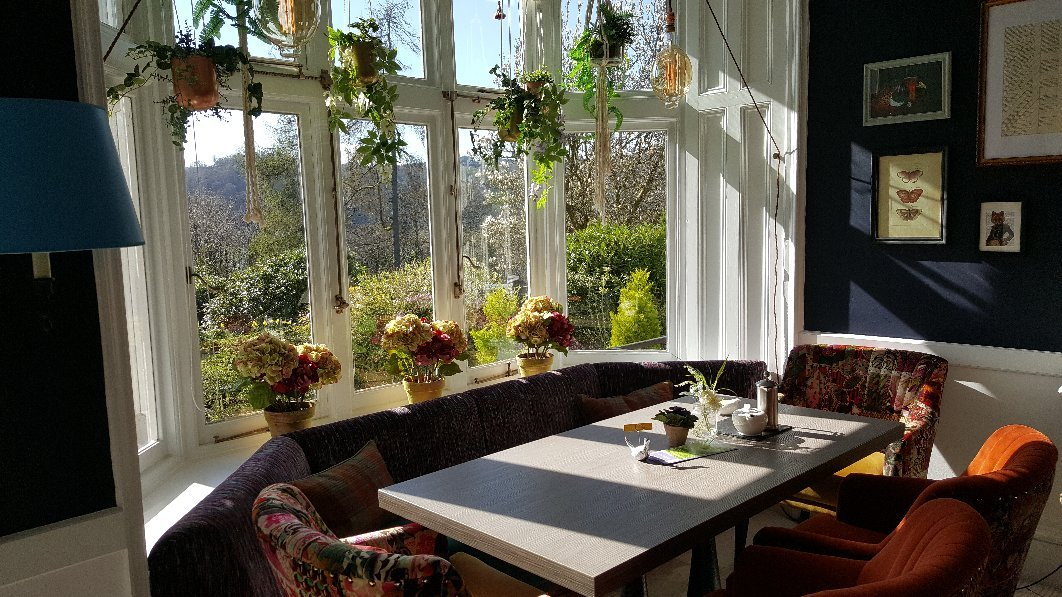 The Dining Room at Lindeth Howe Country House Hotel | Lindeth Drive, Longtail Hill, Windermere LA23 3JF | +44 15394 45759