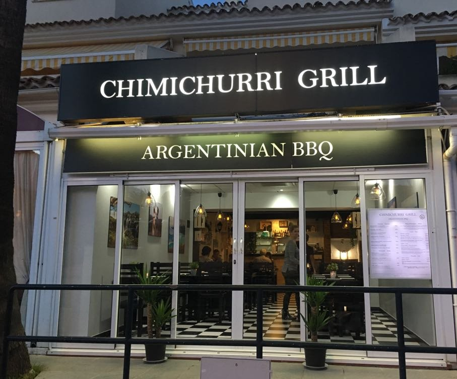 Chimichurri Grill. Argentinian BBQ, Sitio de Calahonda