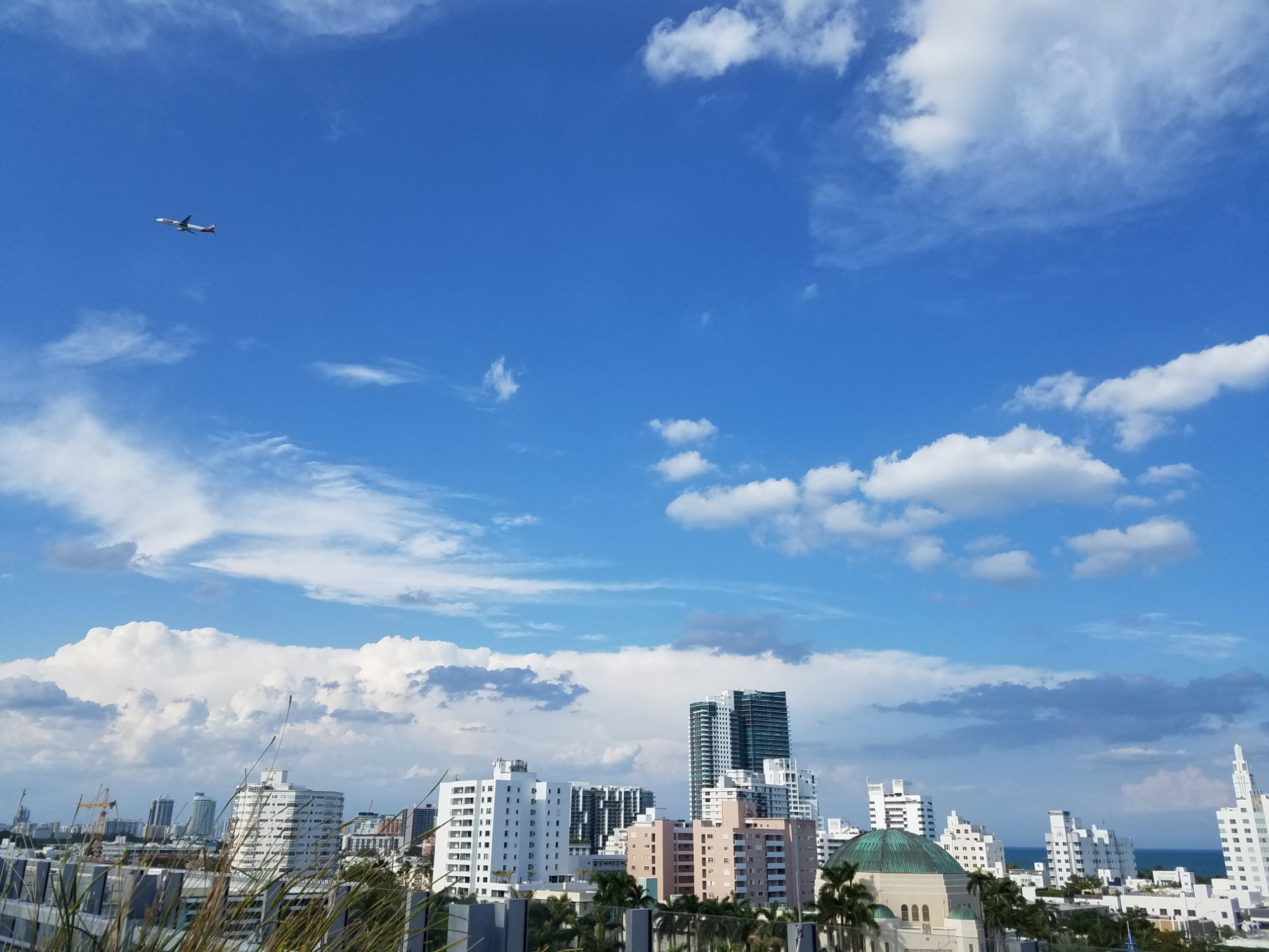 Downtown Miami Beach, from the top of the New World Symphony