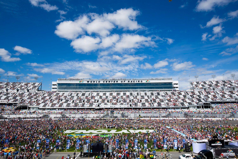 Daytona International Speedway, the world's only motorsports stadium