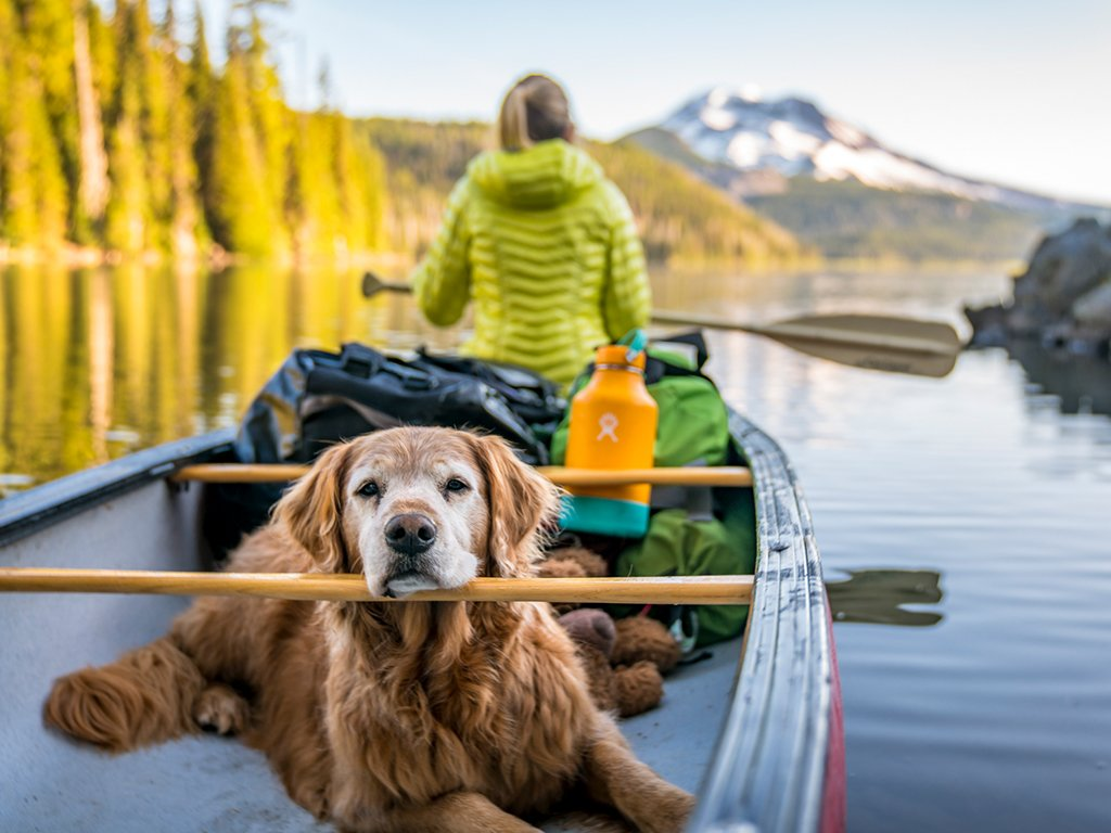 Sparks Lake Canoeing