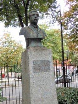 Buste d'Henri Rousselle