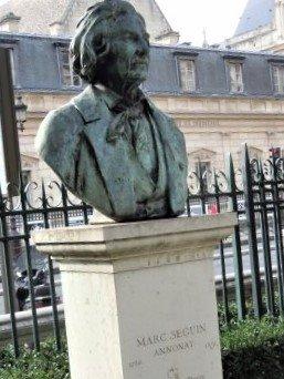 Statue de Marc Seguin