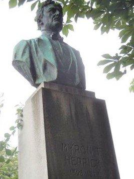 Buste de Myron Timothy Herrick