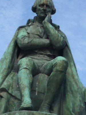 La statue de Lamarck