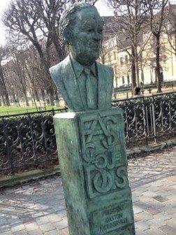 Buste de Gaston Monnerville