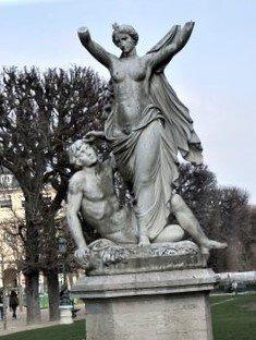 Statue L'Aurore