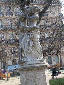 Statue Le Jour