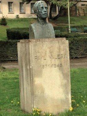 Buste de Paul Valery