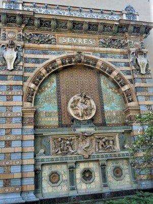 La porte du Square Felix Desruelles