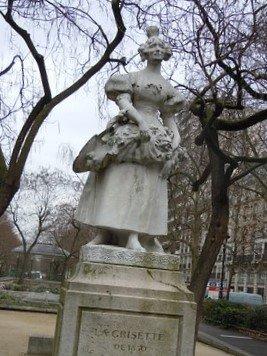 Statue La Grisette