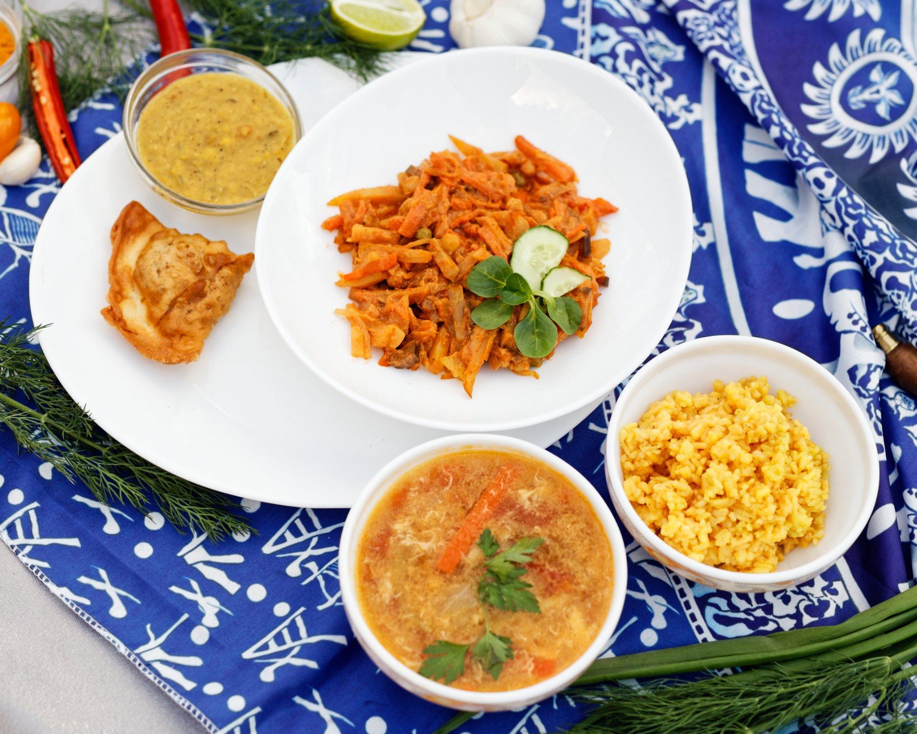 ''Hindi'' - Indian cusine