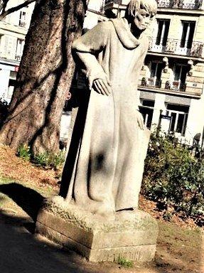 Statue Francois Villon