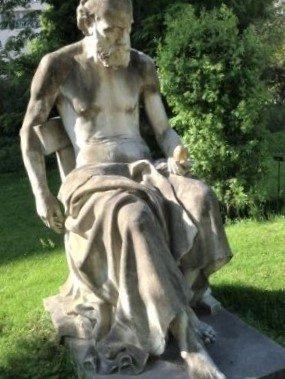 Statue Science et Mystère