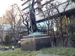 Heiwa no Megami Statue