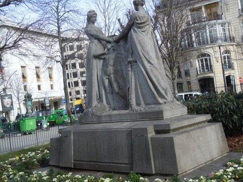 Monument à la France La Belgique reconnaissante.
