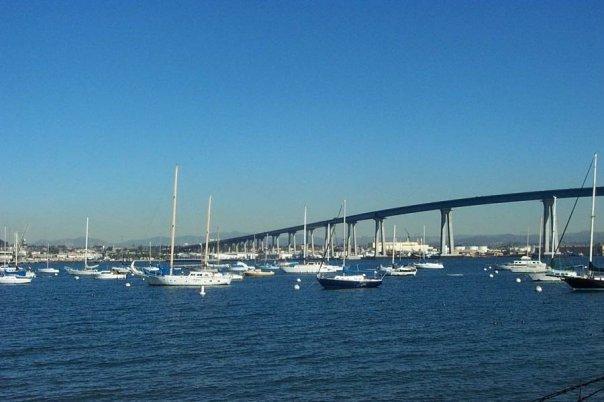 Coronado Bridge (from Balboa Park, Coronado)
