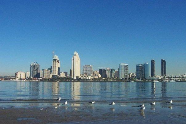 View of San Diego (from Balboa Park, Coronado)