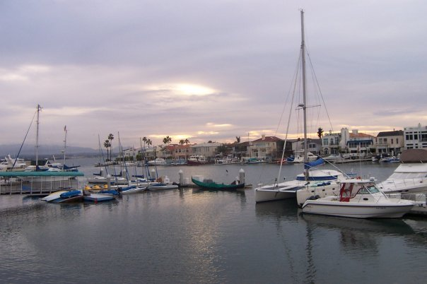Boat docks near Loews Hotel (Coronado, CA)
