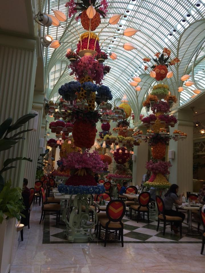 The buffet at the Wynn enter !