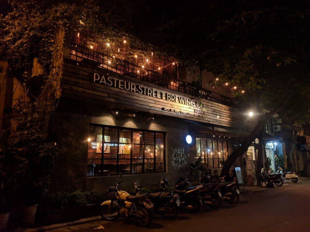 entree Pasteur Street Brewing Company Tripadvisor