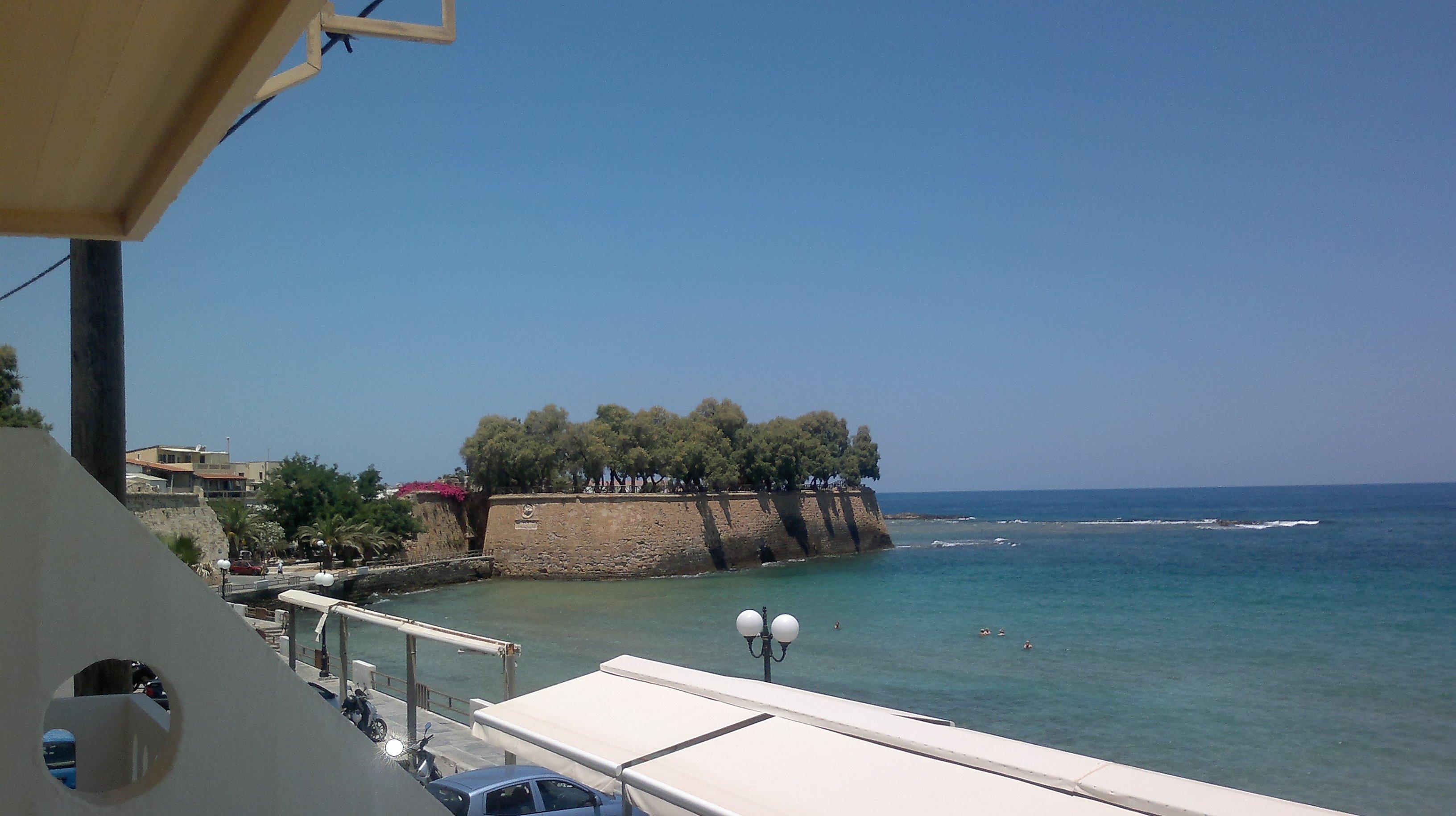 Argo Beach / Cretan sea / Balcony / Chania, Crete.