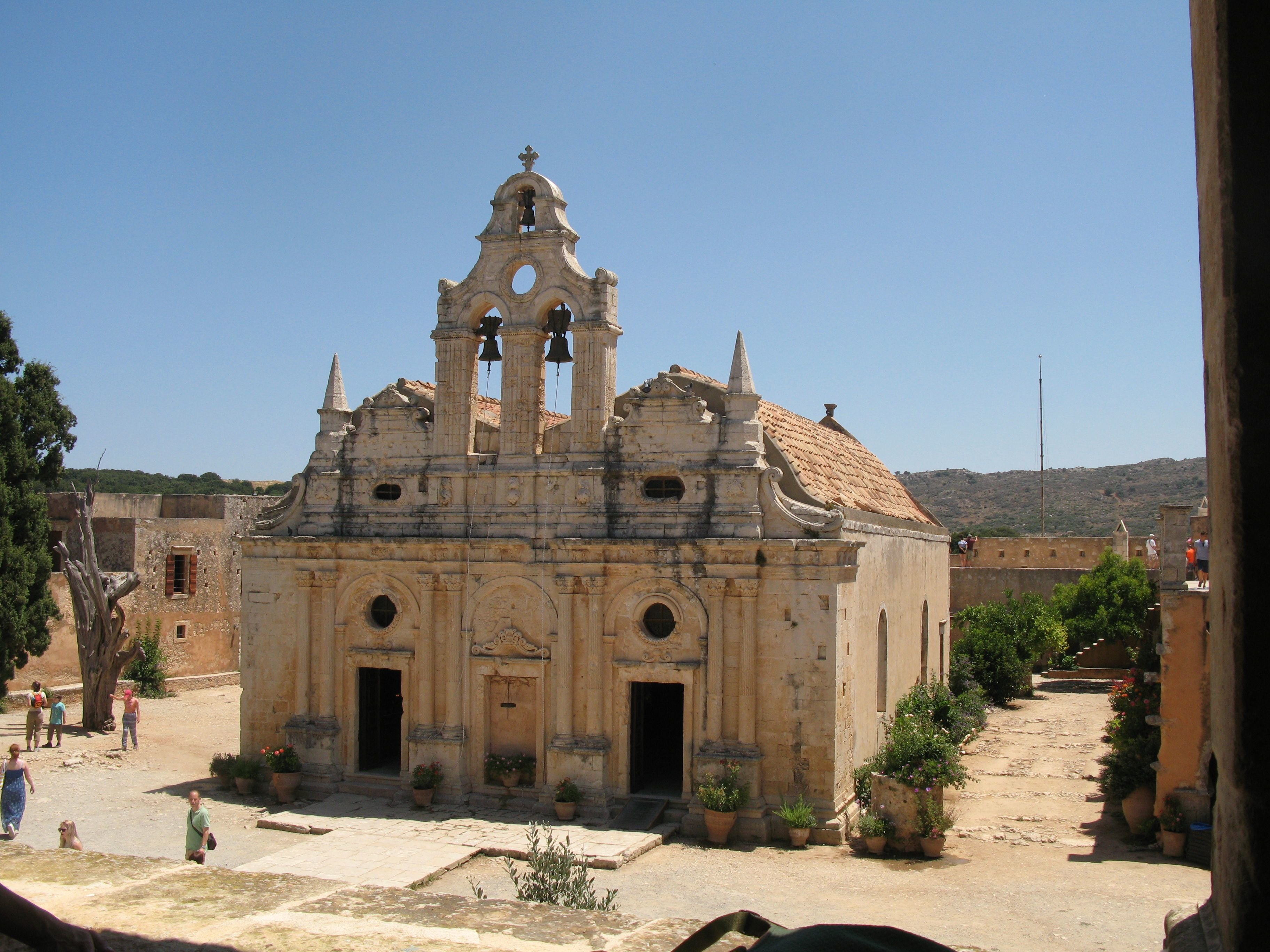 Arkadin Luostari, Kreeta, 2018. Moni Arkadiou. Le Monastère d´Arkadi.