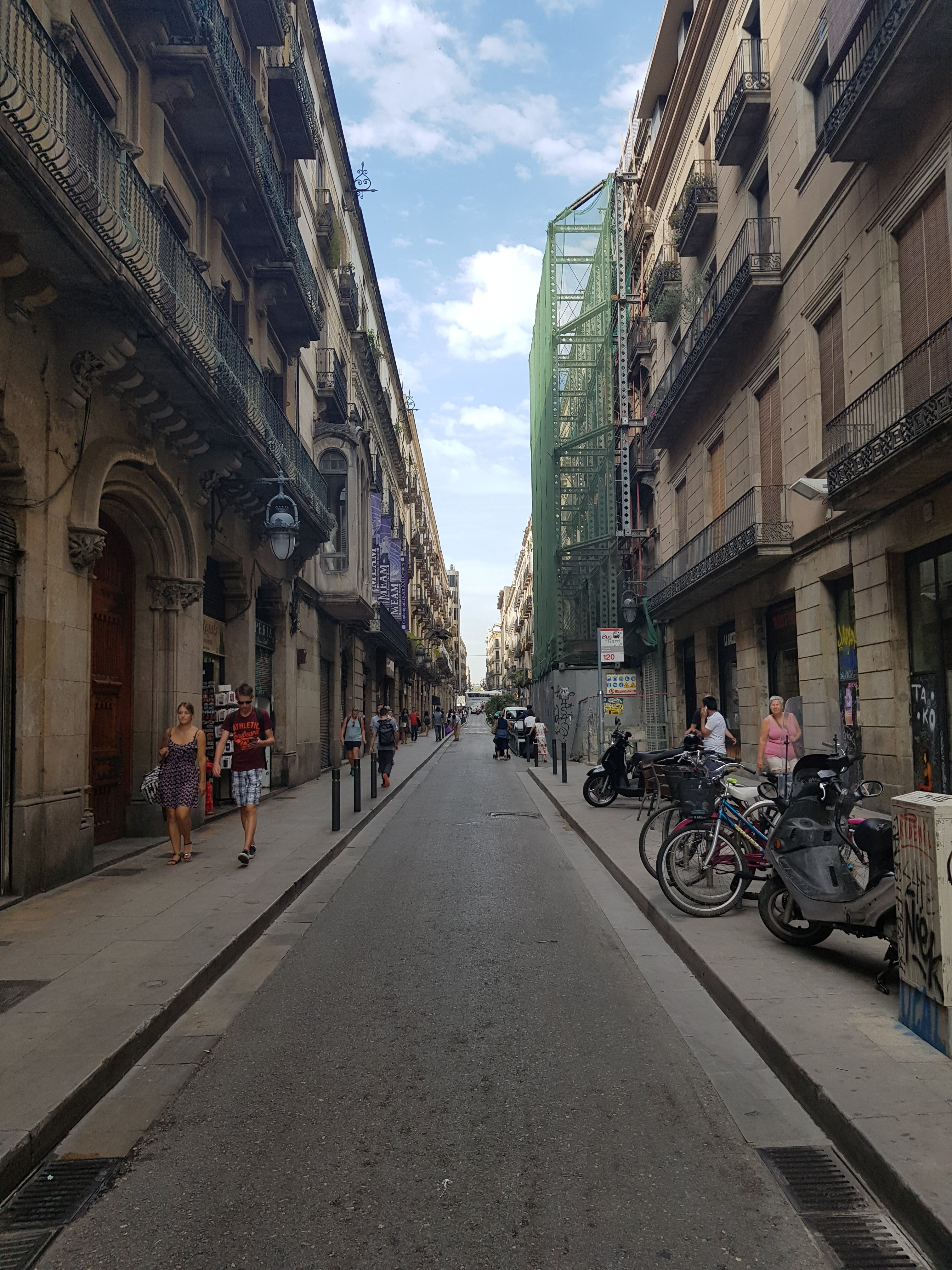 streets near picasso museum