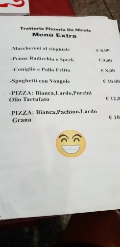 Pizza extra large