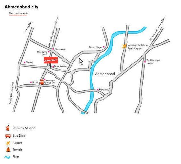 Ginger Hotel Ahmedabad (Drive Inn Road)