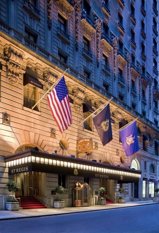 セント レジス ホテル ニューヨーク