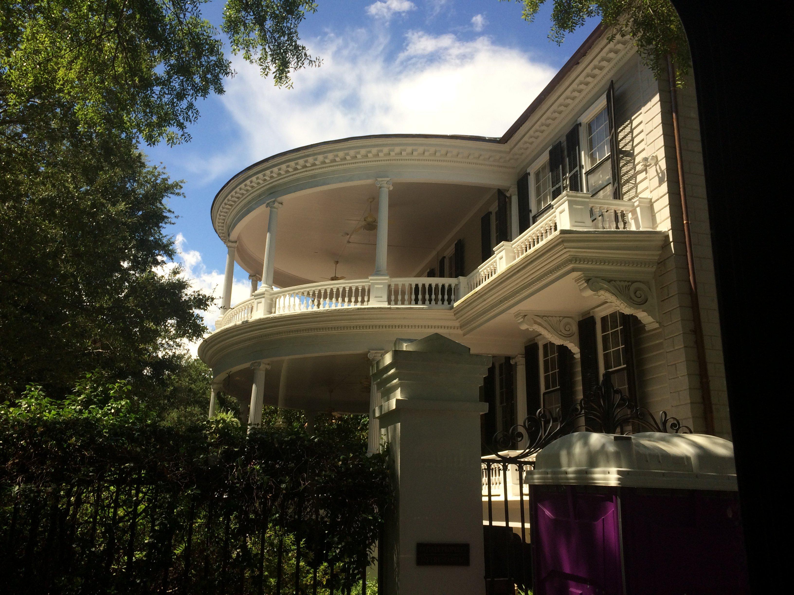 Charleston style house architecture