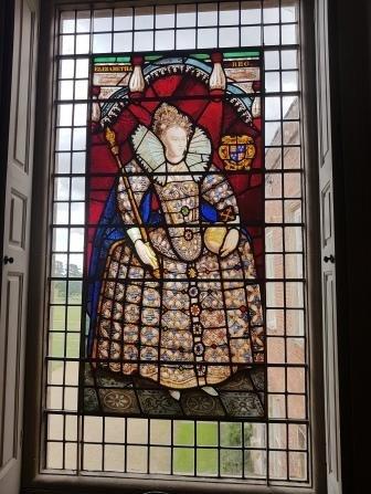 Elizabeth I window at Melford Hall