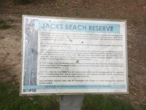 Jacks Beach Reserve