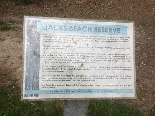 Jacks Beach Reserve