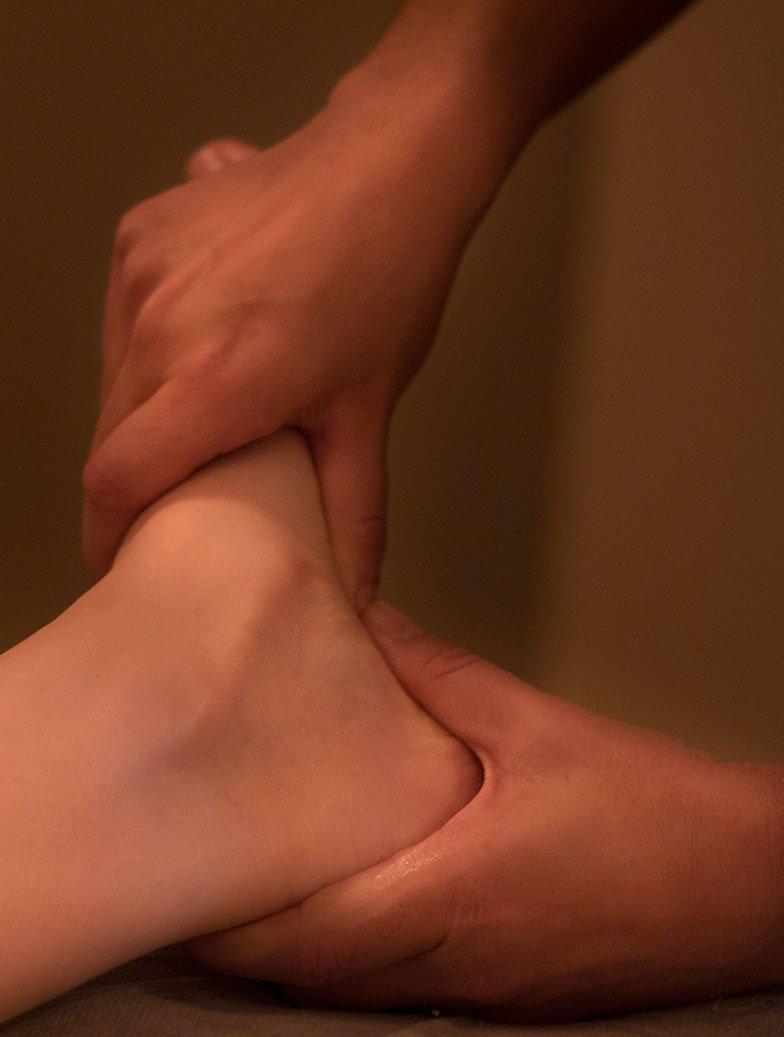 reflexología podal y masaje de pies