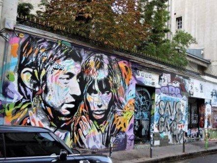 Fresque Serge & Jane