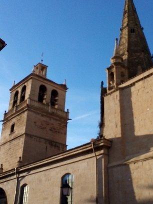Exterior de la Iglesia de San Bartolome.