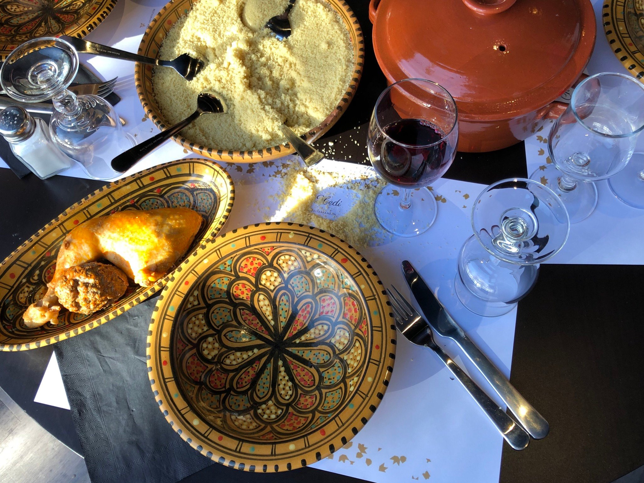 Chartres,  Food Guide: 3 Moroccan food Must-Eat Restaurants & Street Food Stalls in Barjouville