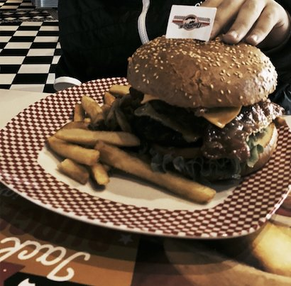 Il doppio burger