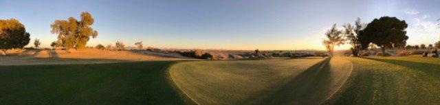 Blythe Municipal Golf Course Panoramic View