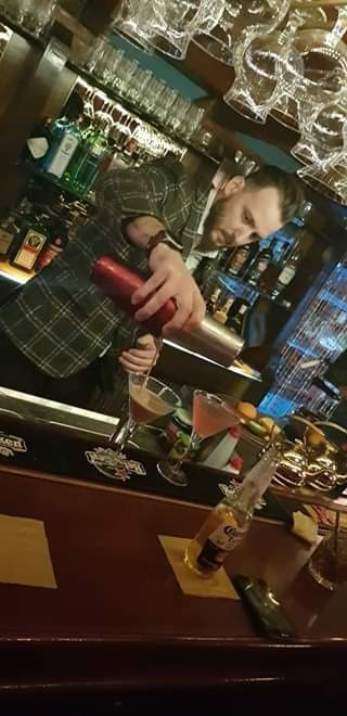 Special and unique cocktails made by our international Bar tender