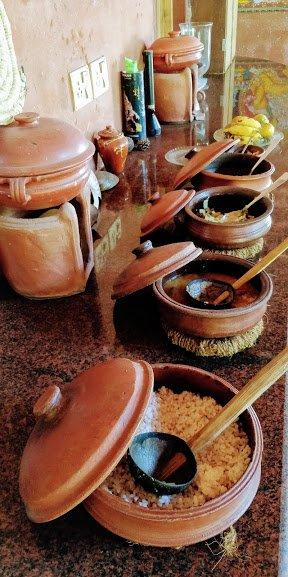 Authentic delicious Kerala food
