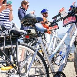 Audio guided bike tour
