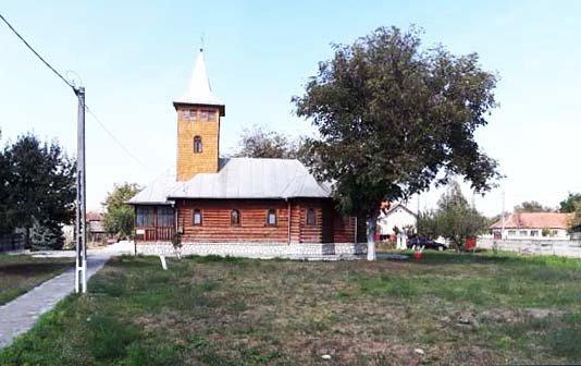 Biserica din lemn Adormirea Maicii Domnului