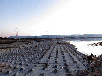 Daiju zeki Weir of Yoshino River