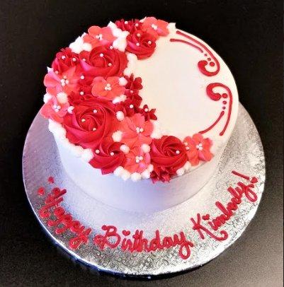 Flower Cake (Custom Order)