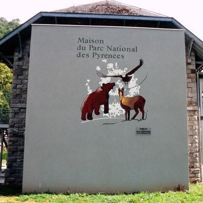 Maison du Parc national des Pyrénées de Etsaut