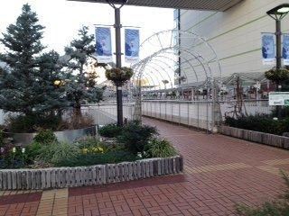 Pedestrian Deck Plaza