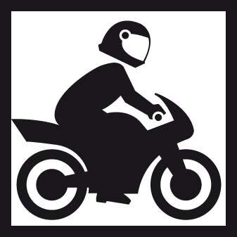 Notre garage fermé permet aux motards de laisser leur deux roues en toute sécurité & sérénité ;-